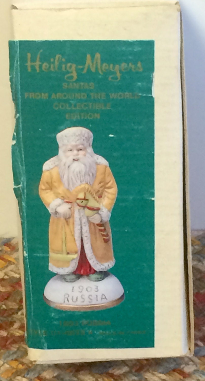 Heilig Meyers Santas From Around The World 1903 Russia