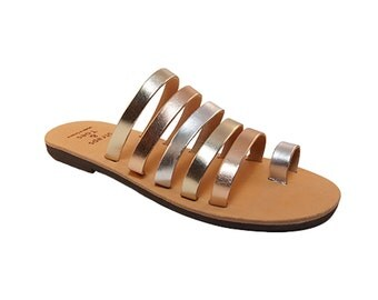 Sigma leather sandals