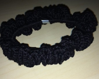 Crocheted Scrunchy