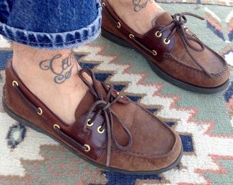 Sperry boat loafers slip on men's 8 (41)