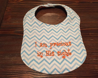 Embrodered Baby Bibs