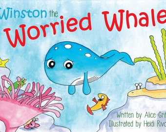 Story Activity Book for Anxious Worried Children