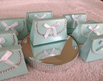 Tiffany Blue Purse Favors