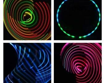 Multi Color Fade LED Hula Hoop