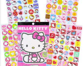 Hello Kitty Stickers, 216 count