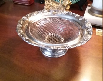 English Silver plated Compote