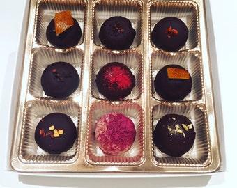 Rose&Basil - Organic x Vegan Chocolate Truffles