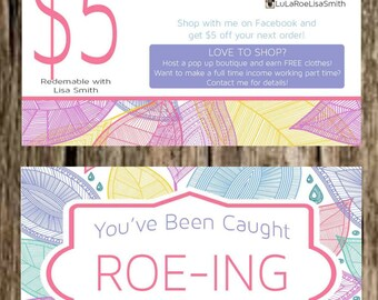 LuLaRoe Business Card Customizable Business by TicTacsApparelGifts