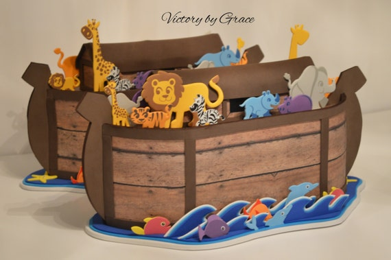 Noah 39 s ark birhtday noah 39 s ark decorations noahs for Noah s ark decorations