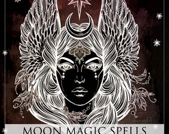 Moon Magic Spells for Earth, Air, Fire & Water