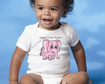 Little Peanut Onesie that is so cute any baby girl will be irresistible in it!
