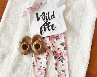 WILD & FREE Short Sleeve Bodysuit