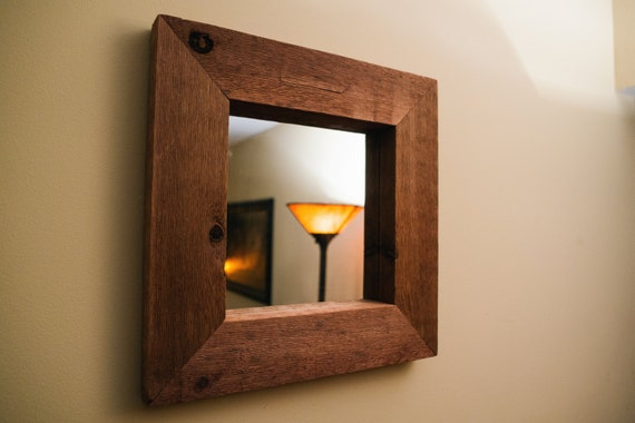 wood framed mirror rustic large wall mirror floor mirror