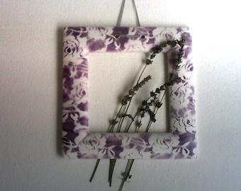 Frame, purple frame