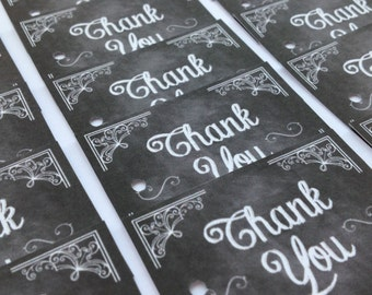 Wedding favour Small Chalkboard Tags Party Thank You Tags Wishing Tree Tags Shabby Chic Pack of 20
