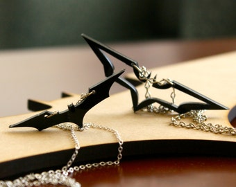 Batman The Dark Knight Necklaces for couples