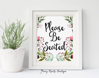 Please Be Seated Print,Bathroom Art, Funny Bathroom Printable, Printable Bathroom Art,Funny Bathroom Decor,Funny Bathroom Art,