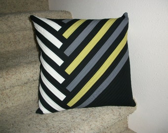Contemporary Quilted Pillow