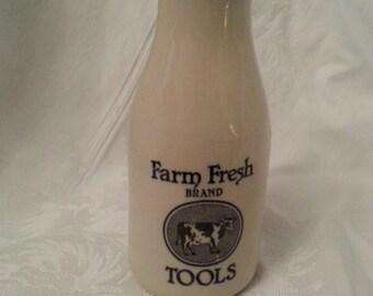 Shabby Chic Farm House Vintage Vase