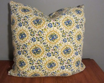 Vintage Fabric Handmade Pillow Cover 20 x 20