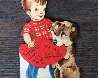 Dog Love Valentine Card
