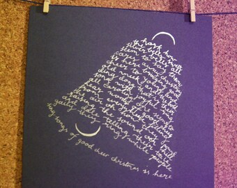 Carol of the Bells - Christmas Card