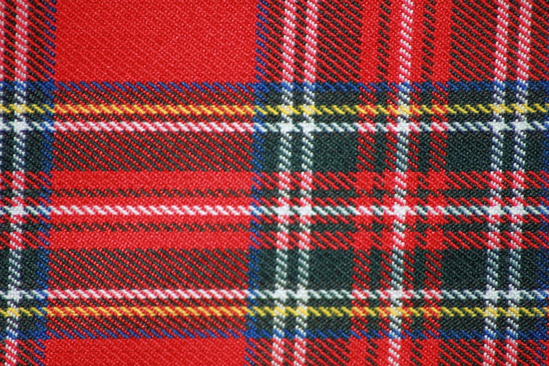 Red Royal Stewart Tartan Fabric From SusanWillowGB On Etsy