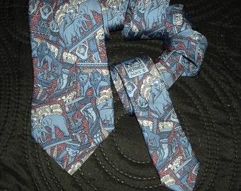 Hermes Silk Tie 7374 PA Made in France tie HERMES