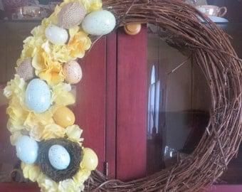 Easter Wreaths/Spring Wreath/Front Door Wreath/Indoor Wreath