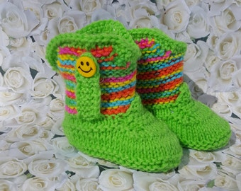 Cowboy boots, Cowgirl boots, baby boots,baby slippers,baby gift,knitted baby booties, baby shower,newborn, baby boots,shoes for babies, baby