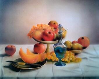 Still life acrylic on canvas