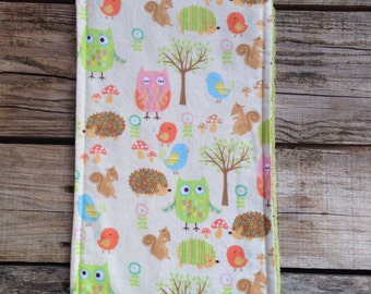 Flannel & Terry Cloth Burp Cloth - Baby Burp Cloth - Burp Rag - Nursing - Feeding - Burping - Over Sized Burp Cloth - Baby Shower Gift