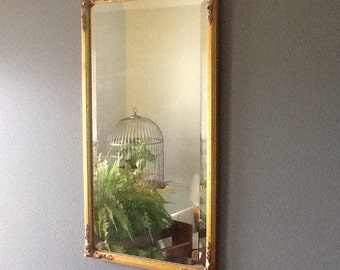 Gold Carved Framed Mirror