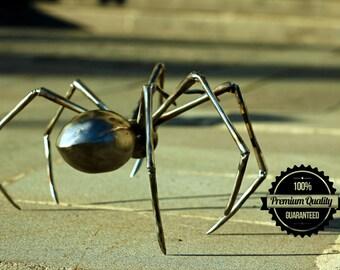 Metal spider (Steel) Spider art sculpture