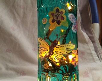 Butterfly Bottle Light