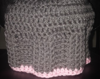 women's crocheted beanie