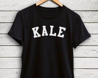 Kale shirt Womens - kale tshirts, kale tops, vegan shirts, funny tshirts, kale print shirt,