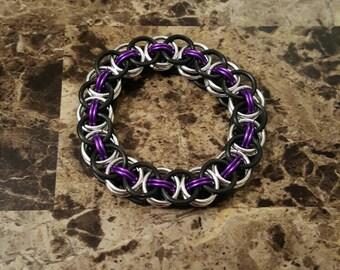 Helms Weave Stretch Bracelet