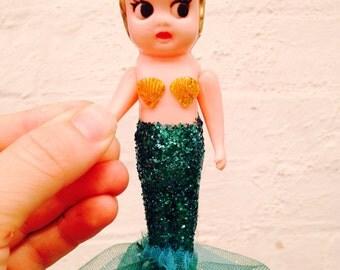 Mermaid Kewpie Doll