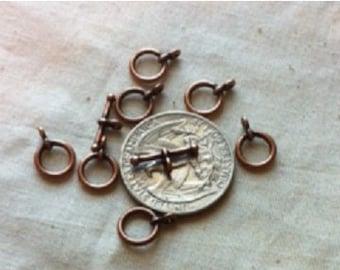 Toggle Clasp Antique Copper