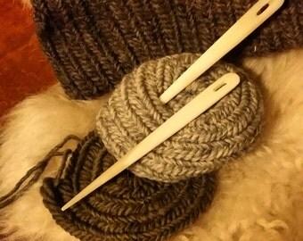 Large Bone Nalbinding Needle, Nalbinding Needle, Nålbinding Needle, Naalbinding Needle