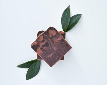 Sandalwood Soap - Handmade Soap, Vegan Soap, Cruelty-Free Soap, Bar Soap, Natural Soap, All Natural Soap, Cold Process Soap, Bath and Beauty
