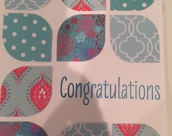 Congrats card 4