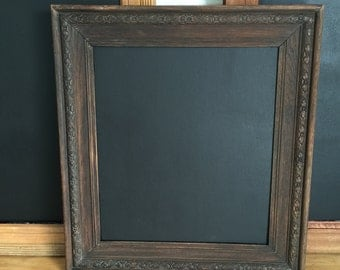 Medium Vintage Antique Framed Chalkboard