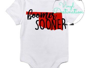 Boomer Sooner T-Shirt / Bodysuit