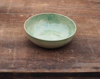 Transparent Bowl 13 cm Green