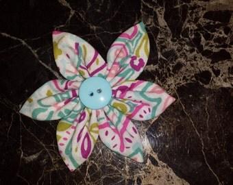 Paisley Patterned Flower Headbands