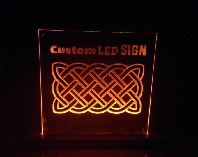 Custom Designed LED Sign