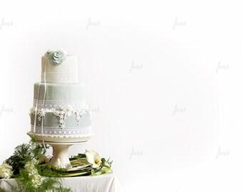 Styled Stock Photography - Styled Wedding Cake - Marzipan
