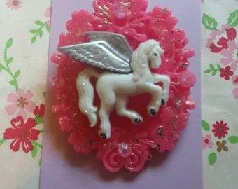 Unicorn Brooch